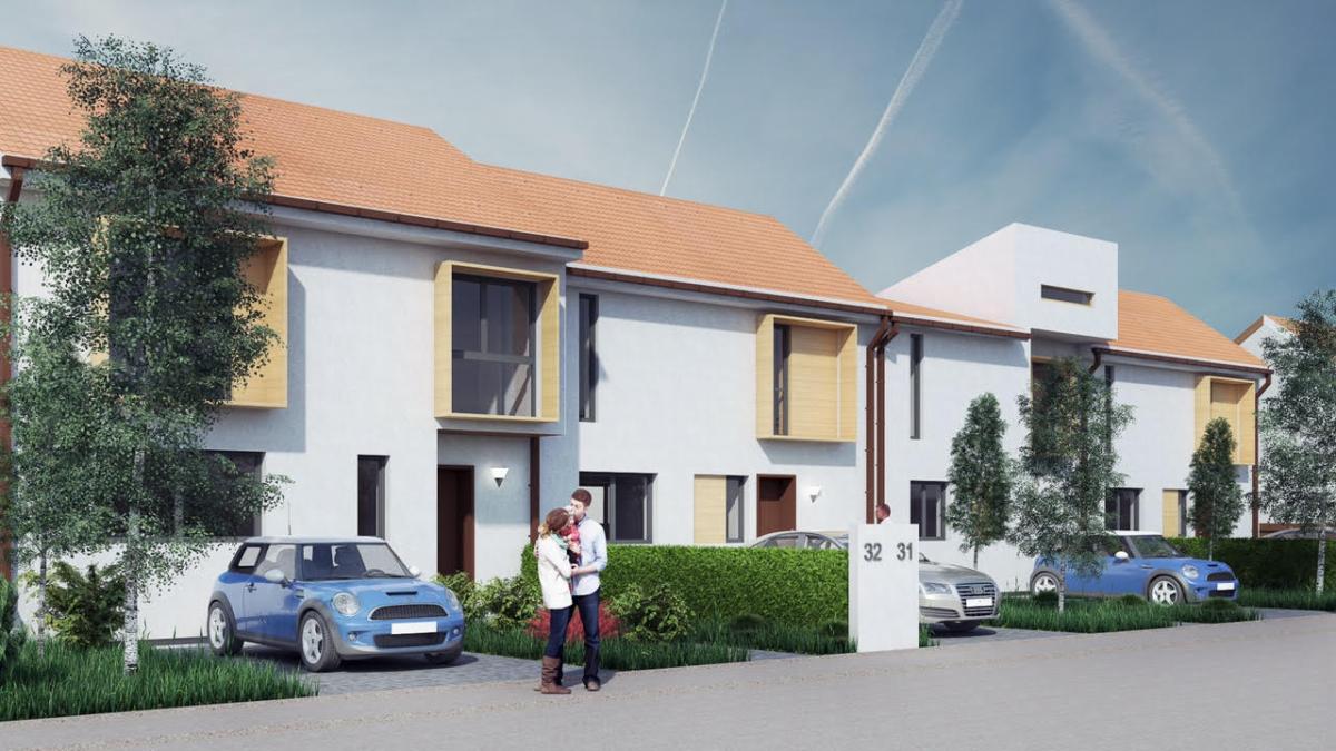 Case noi cartier GreenVille Residence case noi in Alba Iulia